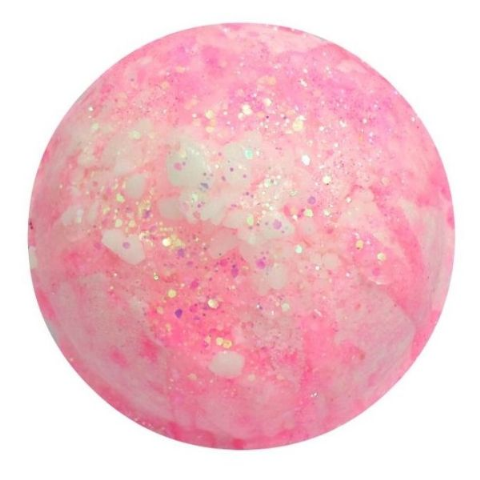 Archangel Haniel Rose Quartz Crystal Geode Bath Bomb